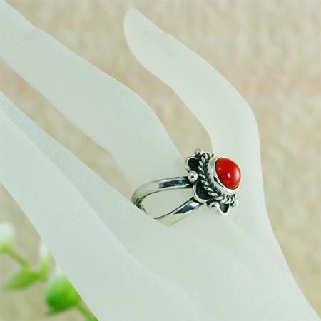 サンゴのリング