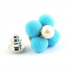 コロンと可愛い本真珠パールの ブートニエール